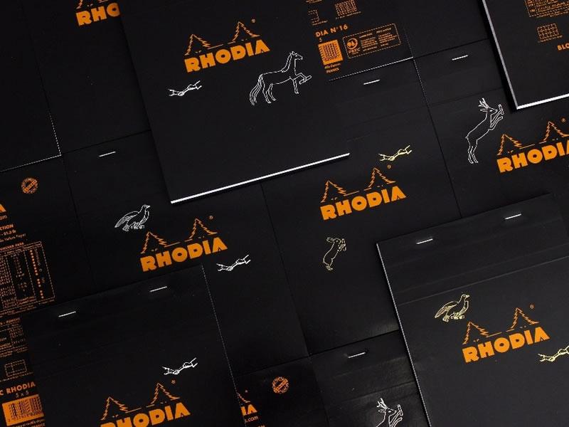 「RHODIA メモブロック」をPASS THE BATONがリメイクして再販