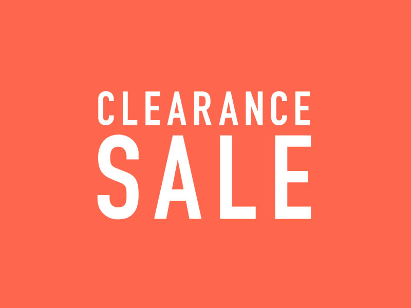 CLEARANCE SALE_001
