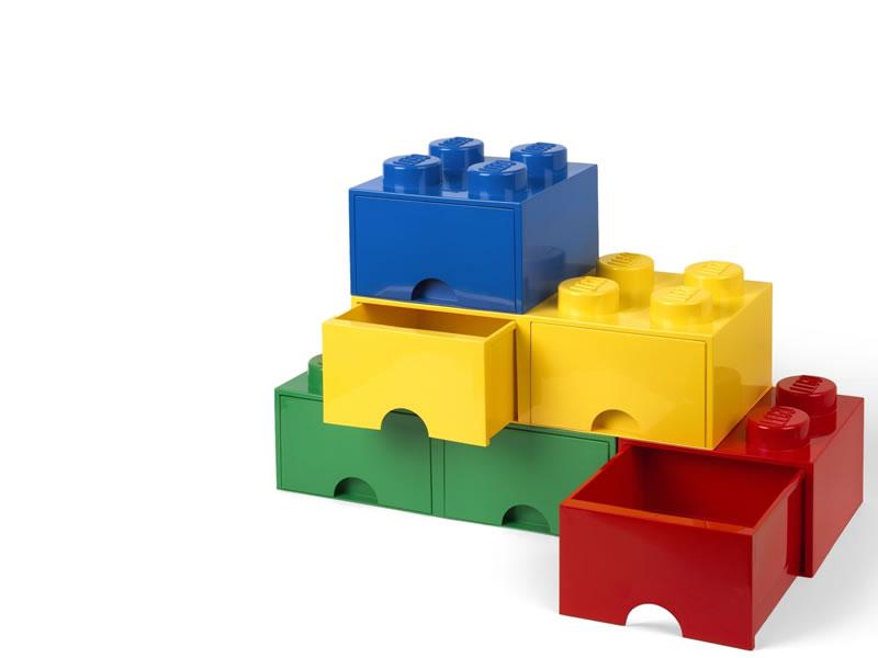 LEGO型収納に引き出しタイプが追加