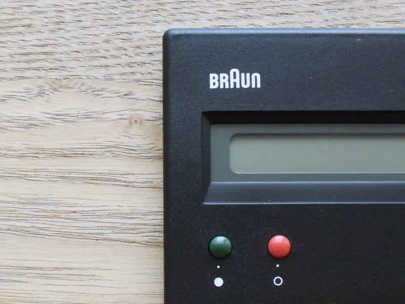 廃番決定の名作電卓「BRAUN BNE001 ブラック」を確保しました