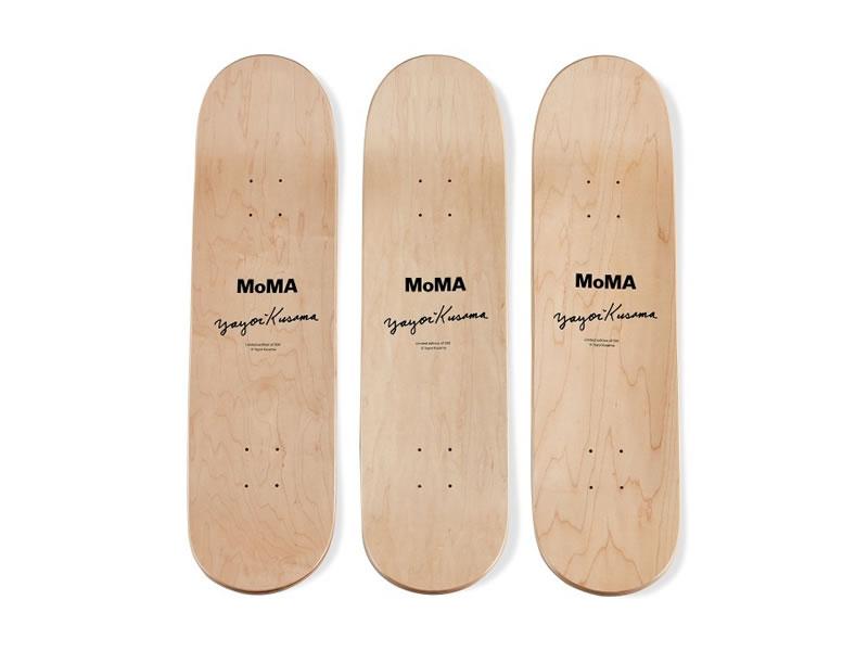 草間彌生 × MoMA デザインストアのスケートボード!