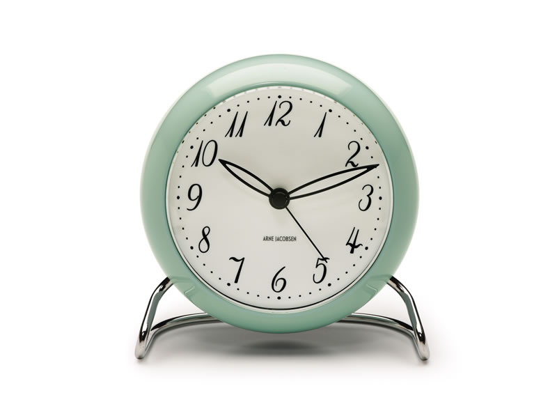ARNE JACOBSEN TABLE CLOCK LIMITED EDITION ICEBLUE_002