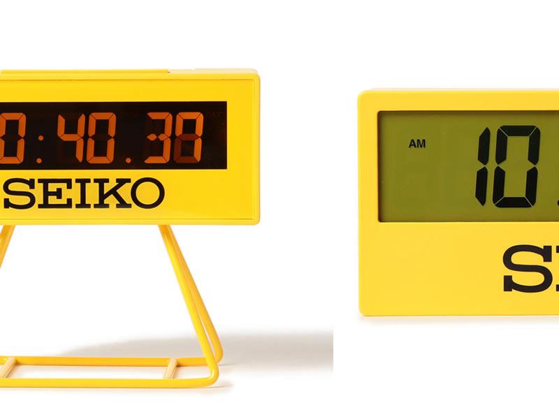 スポーツ大会公式タイマーデザインのSEIKO(セイコー)の置時計