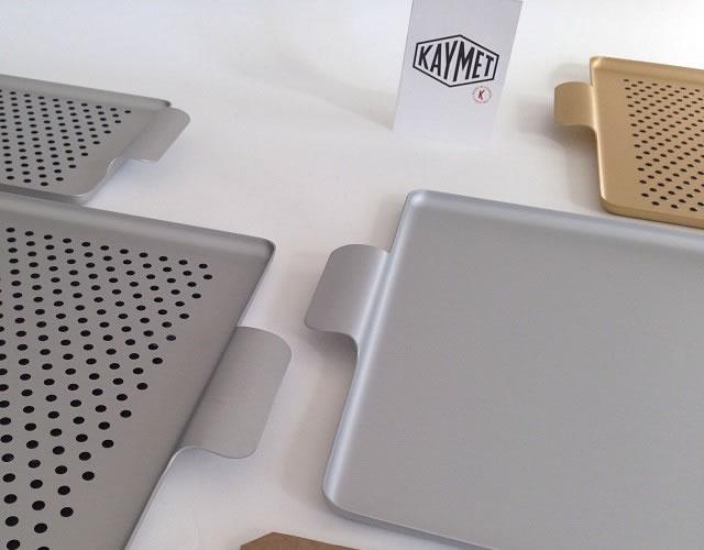 美しい…専門メーカー「KAYMET」社のアルミ製トレイ