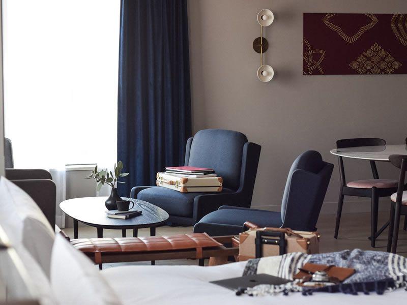 IDEE創始者・黒崎輝男氏が手掛けたホテル「NOHGA HOTEL UENO(ノーガホテル上野)」