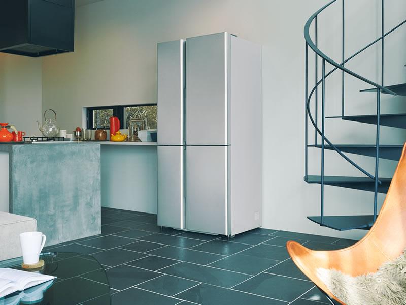 深澤直人デザインの冷蔵庫、AQUAからリリース