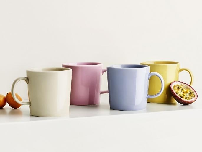 イッタラ「ティーマ マグ」のスペシャルカラー…透け感のある4色あります