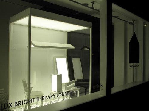 Artek COMME des GARCONS 2500lux bright therapy lounge