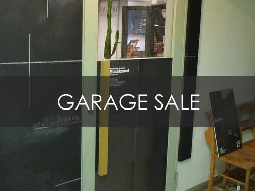 Blackboard GARAGE SALE