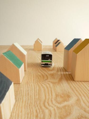 ランドスケーププロダクツ CHIGO PLAYTHINGS House Block(ハウスブロック) 006