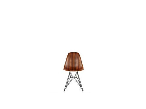 Eames Molded Woos Side Chair Wire Base