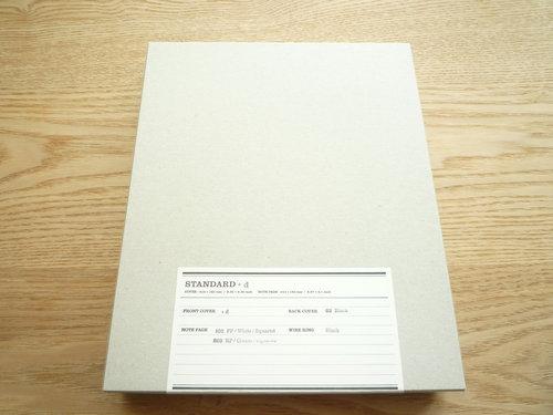 FOLK notebooksのCOMME des GARCONSバージョン、オーダーしてきました