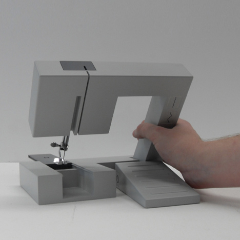 Foldable Sewing Machine by Richard Burrow  001