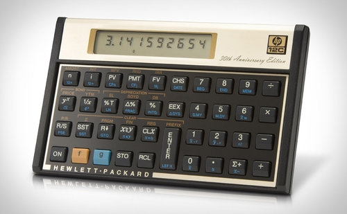 HP 12c 30th Anniversary Edition