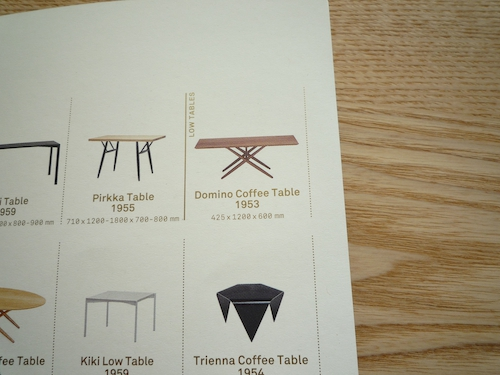 Ilmari Tapiovaara(イルマリ タピオヴァーラ) Domino Coffee Table 3