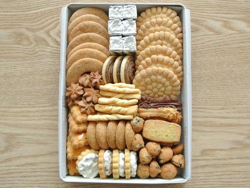 自由学園明日館の缶入りクッキー 009