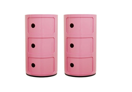Kartell Componibili pink