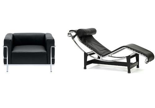 Le Corbusier LC3 LC4