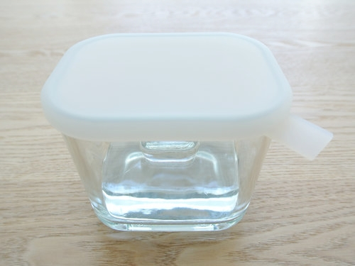 無印良品 ガラス 浅漬け容器 003