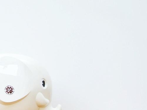 Norsu(ノルス)「エレファントバンク」の限定カラー ホワイト 000