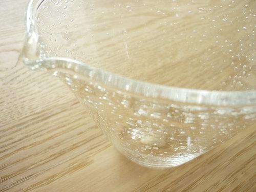 OTA GLASS STUDIOの片口の器「KATAKUCHI」1