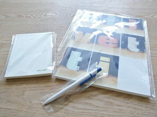 Olivetti pen notebook memopad 003