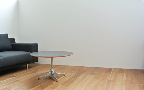 Pedestal Coffee Table Herman Miller 002