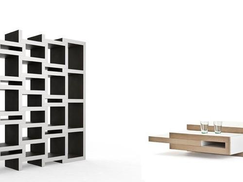 REK bookcase REK coffee table 001