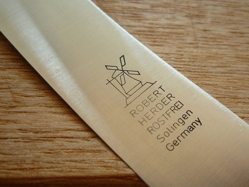 ROBERT HERDER(ロベルト ヘアダー)の食卓用万能ナイフ 風車マーク3
