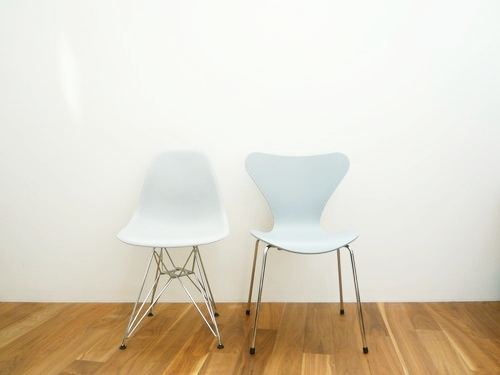 Seven Chair Lacquered Primer grey by Fritz Hansen 004