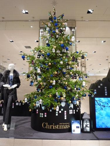 街で見かけた素敵なクリスマスツリーベスト3_2