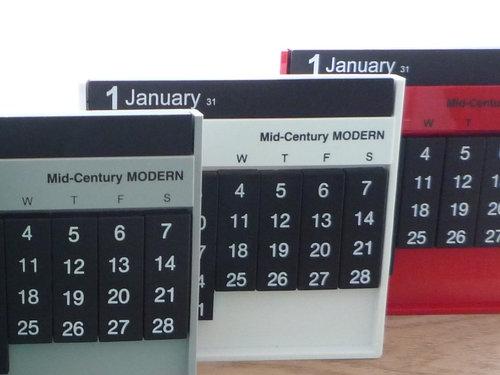 Mid-Century MODERN別注仕様Always Calendar  003