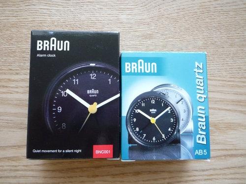 BRAUN(ブラウン)のアラームクロック AB5 002