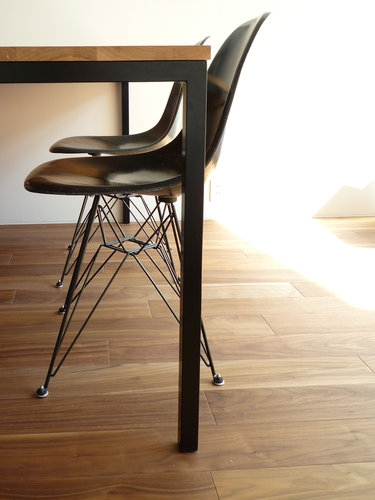 eames shell side chair dsr003