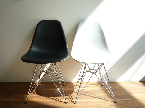 eames shell side chair dsr007