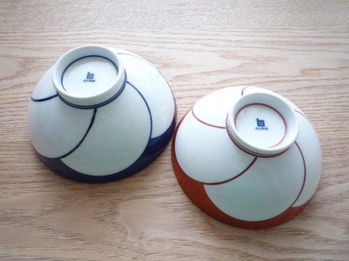 白山陶器 ねじり梅 めし茶わん 003