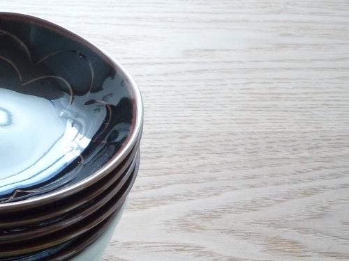 白山陶器 シェル 小皿1