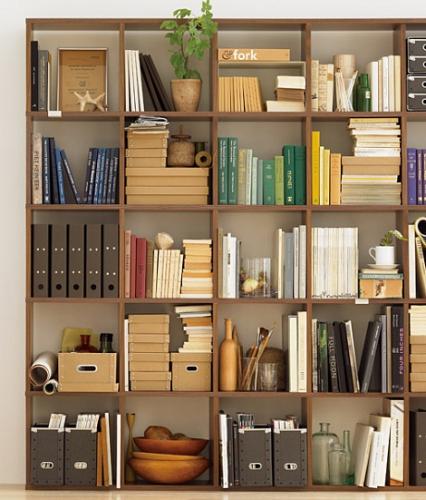 壁一面の本棚を追加オーダーしました