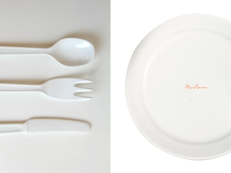 IDEE(イデー)×マーク・ニューソンの食器&カトラリー