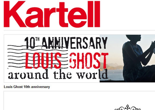 kartell celebrates 10th anniversary of philippe starck
