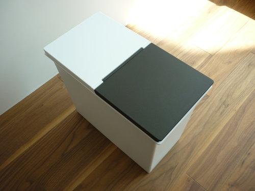 シンク下のキッチンゴミ箱04