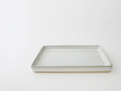 小久慈焼の角皿