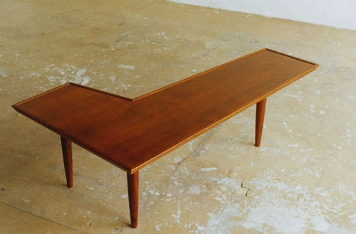 PACIFIC FURNITURE SERVICEの「RUDDER TEA TABLE」