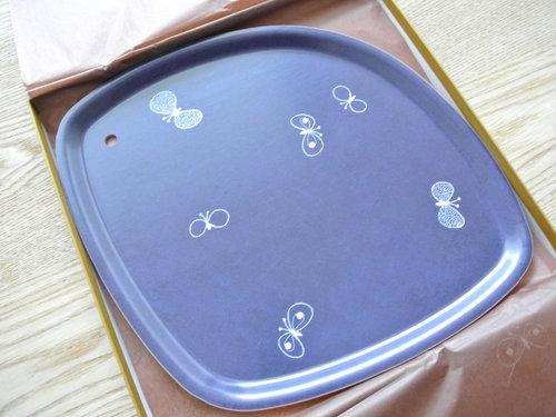 minä perhonen(ミナ ペルホネン)の「tray」(トレイ)が届きました  003