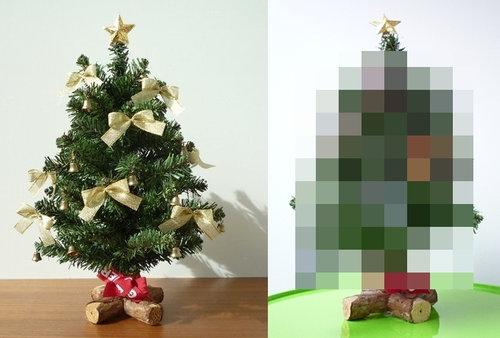 子供部屋のミニクリスマスツリー 1