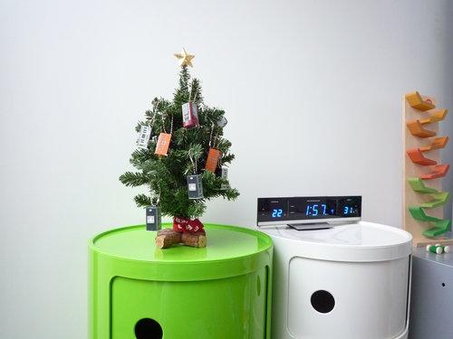 子供部屋のミニクリスマスツリー 3