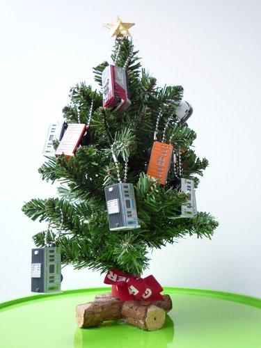 子供部屋のミニクリスマスツリー 4