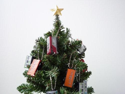 子供部屋のミニクリスマスツリー 5