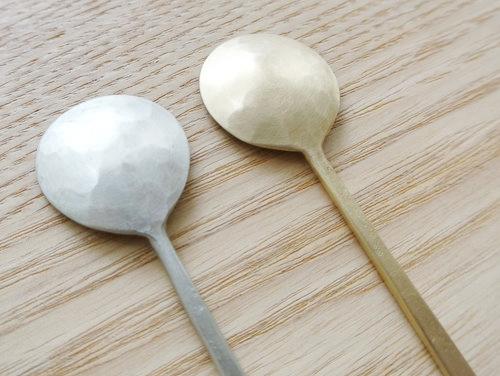 坂野友紀のコーヒースプーン(洋白&真鍮) 003
