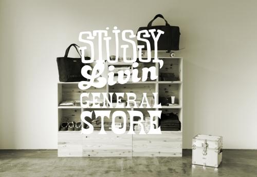 STUSSY Livin' GENERAL STORE サイトーウッド特注のダストボックス